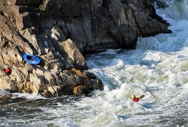 Kayaking at Great Falls Virginia